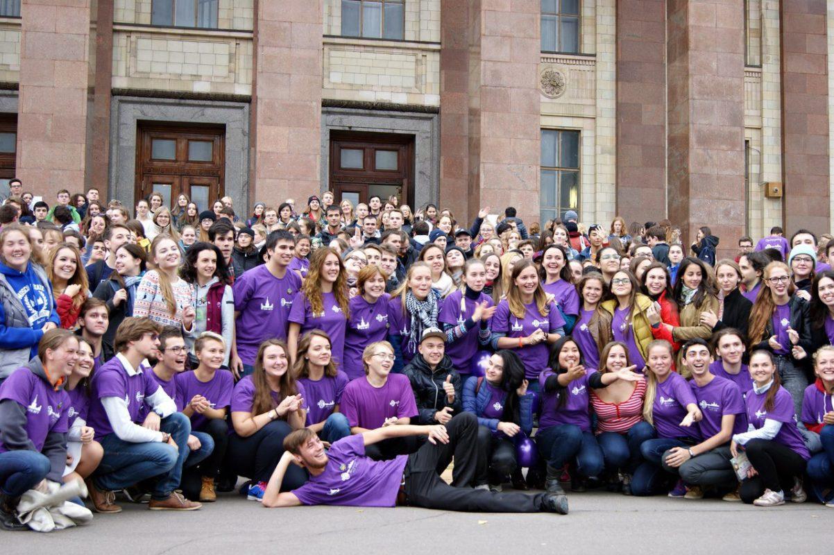 Посвящение МГУ